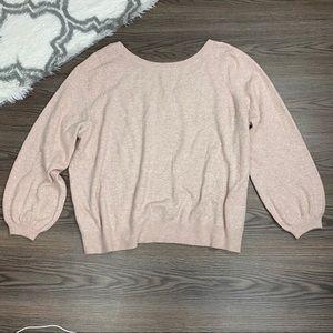 NWT 14th & Union Blush Sweater Size 3X